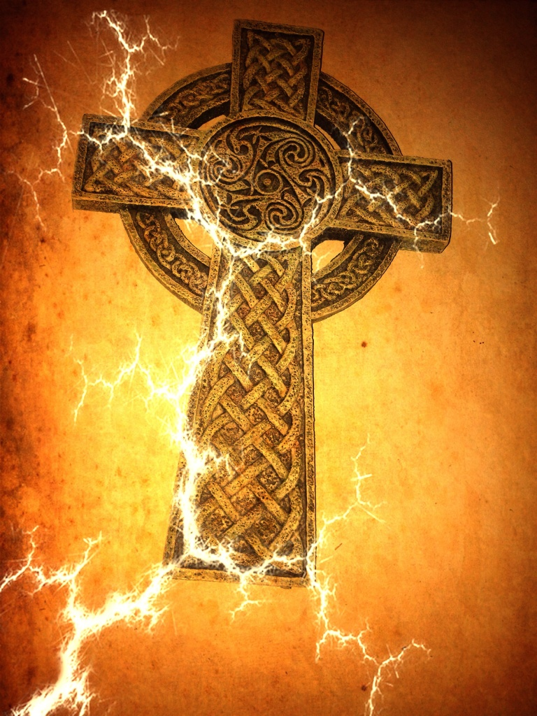 The Celtic Cross by Kimberly Moore