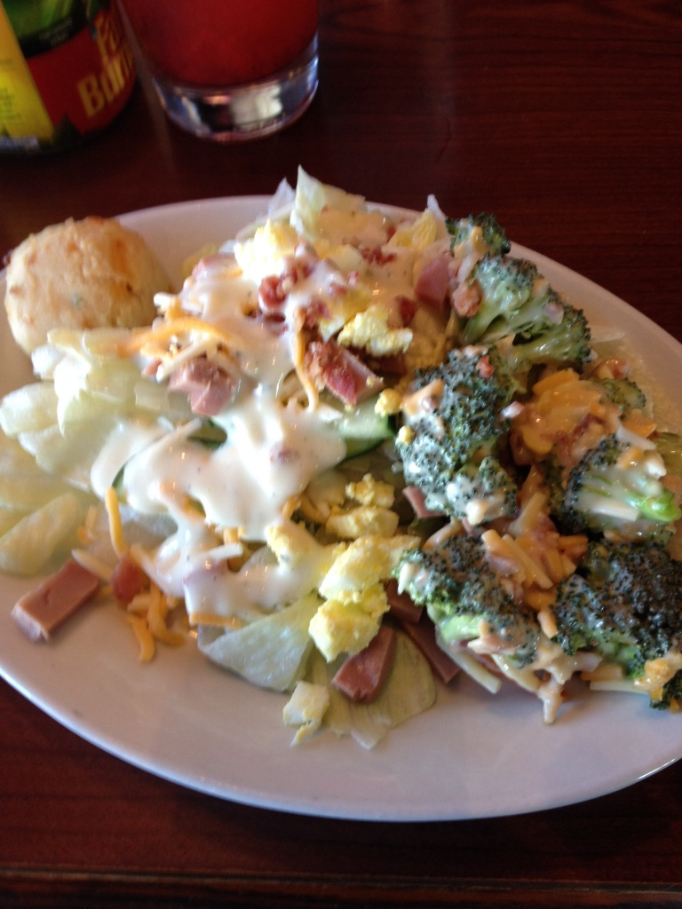 My Scrumptious Salad