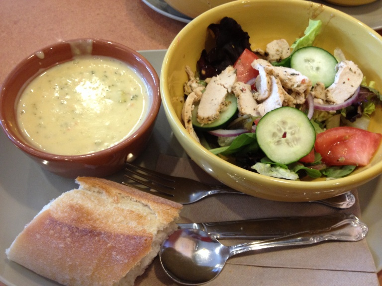 Panera Bread a Treat for Lunch