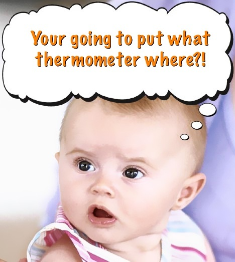 Your Going to Put What Thermometer Where?