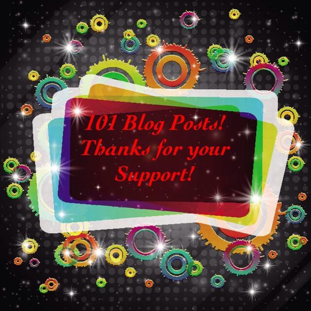 101 Blog Posts!