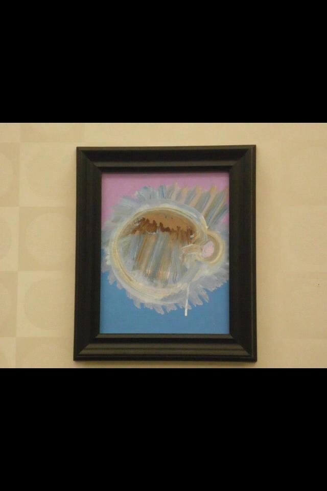 Gunthrie Memorial Library Painting by Virginia Wonder